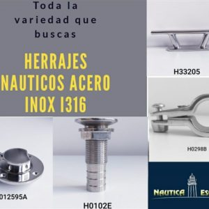 HERRAJES NAUTICOS
